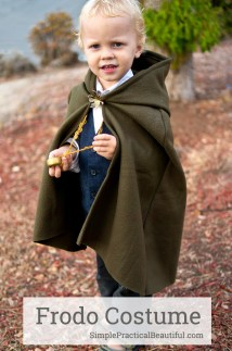 Toddler Frodo Costume Halloween - Simple Practical