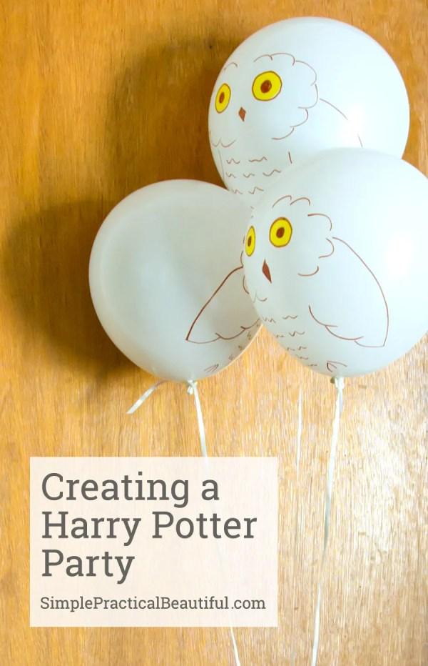 Harry Potter party | SimplePracticalBeautiful.com
