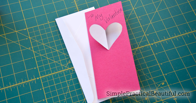 A simple Valentine's card