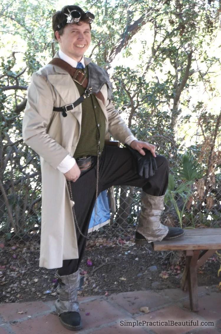 gentlemen's steampunk costume