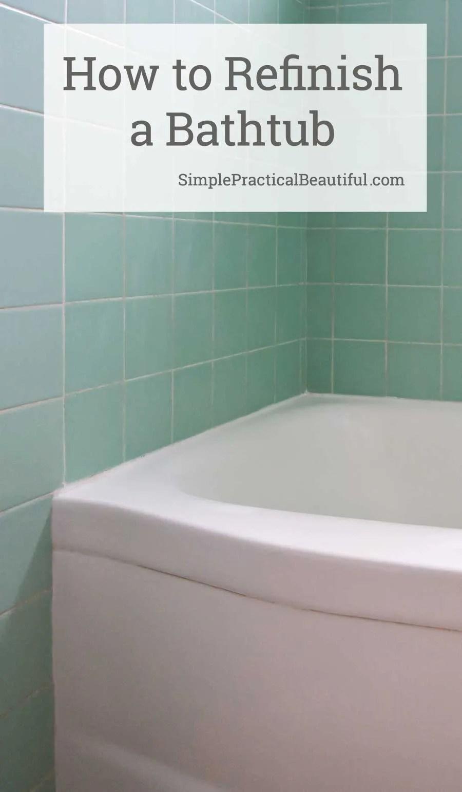My Experience Refinishing A Bathtub With Rustoleum Tub
