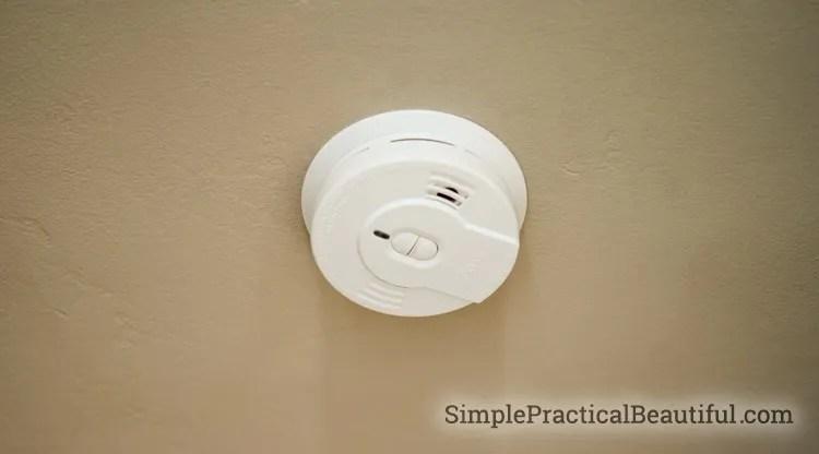 How to install a smoke alarm