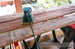 DIY garden box with fence boards