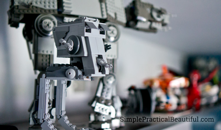 Star Wars Legos need a special place to be displayed