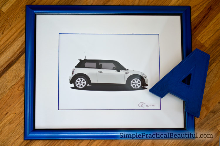 blue-frame-with-car-illustration