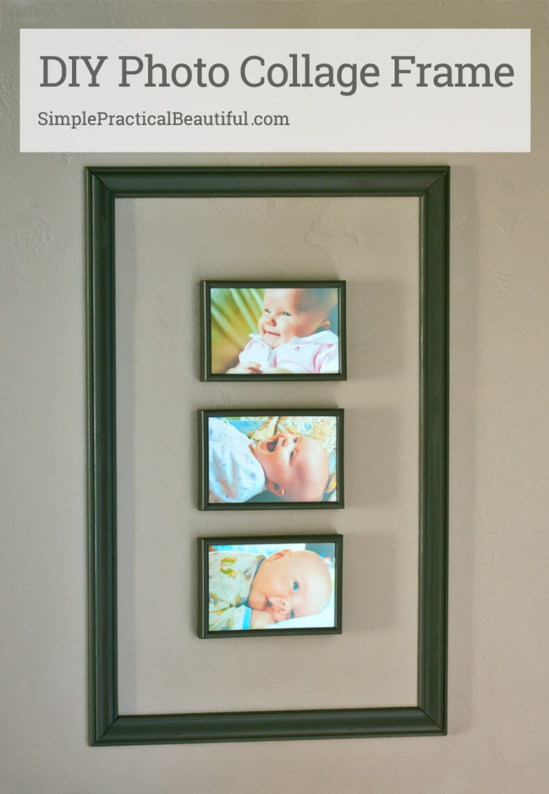 A collage frame of baby photos and the movie Storks - Simple ...