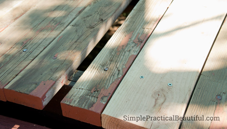 Reclaiming a worn out deck simple practical beautiful for 5 metre decking boards