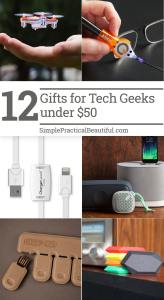 Gift ideas for the technology lover on your list
