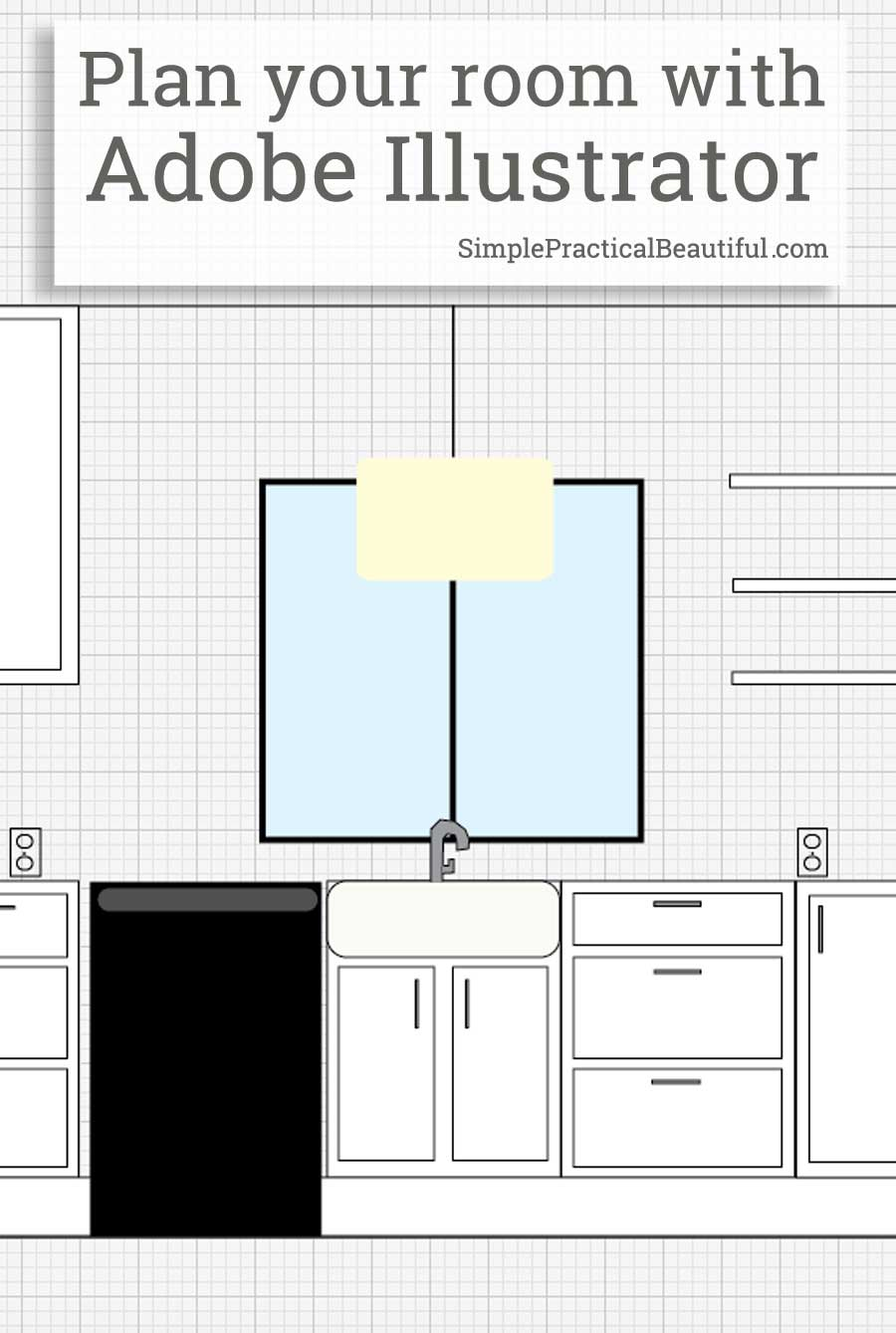 Use Adobe Illustrator To Create An Accurate And Scaled Layout Of Any Room |  Especially Great