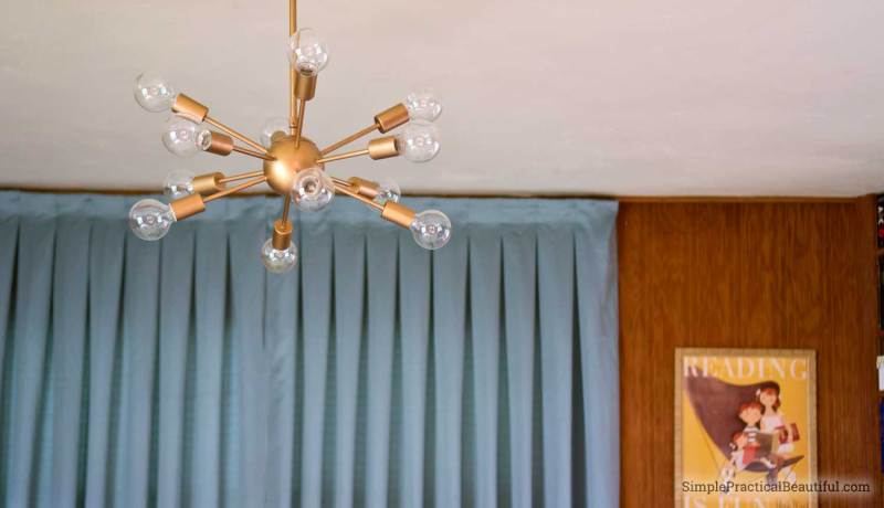 How to choose and install a mid-century sputnik light