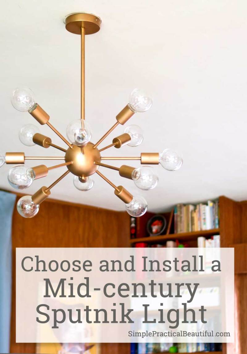 Midcentury lighting a sputnik chandelier simple practical beautiful how to choose and install a mid century sputnik light best price for sputnik arubaitofo Image collections
