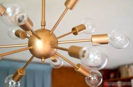How to choose and install a mid-century sputnik light | Best price for sputnik light | How to install the Unitary Brand chandelier
