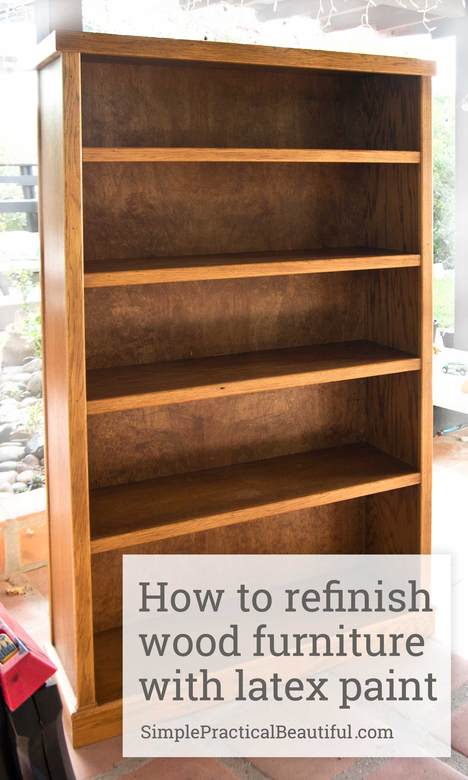 how to refinish wood chairs small round dining table and refinishing a bookcase simple practical beautiful