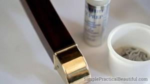 Neutralize any acids after polishing
