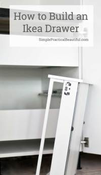 How to Assemble an IKEA SEKTION drawer | Simple Practical ...