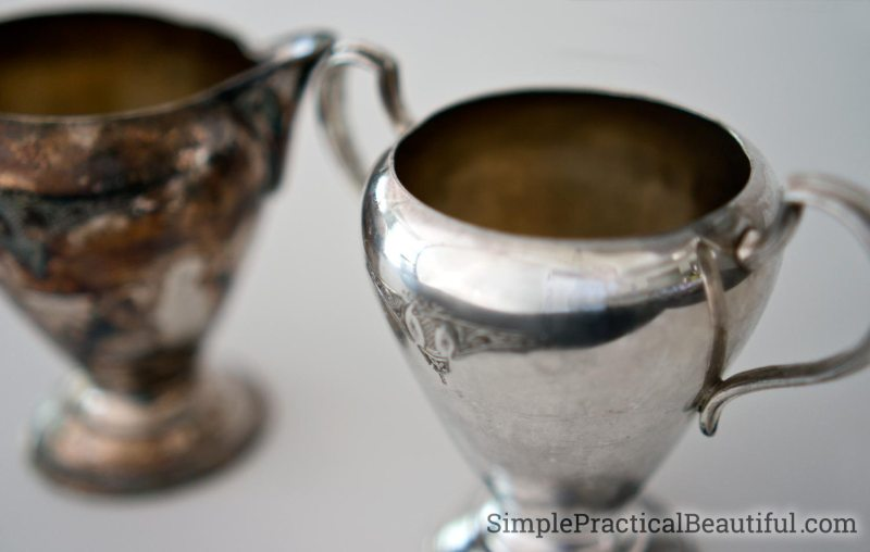 DIY silver cleaner removes tarnish without all the work of polishing silver