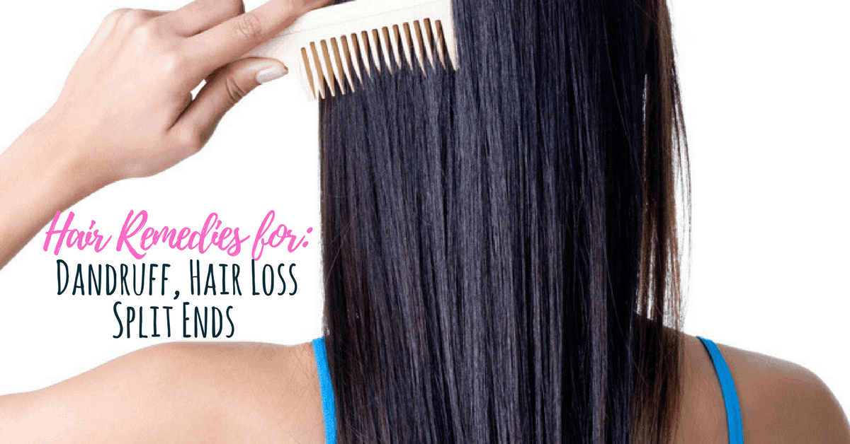 Diy Healthy Hair Tips For Hair Loss Itchy Scalp Split Ends Simple Pure Beauty