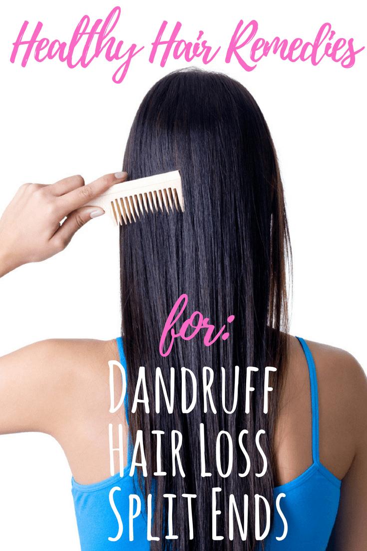 Diy Healthy Hair Tips For Hair Loss Itchy Scalp Split