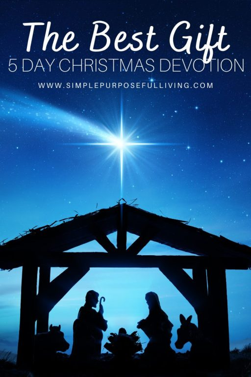 5 day Christmas Devotional The Best Gift