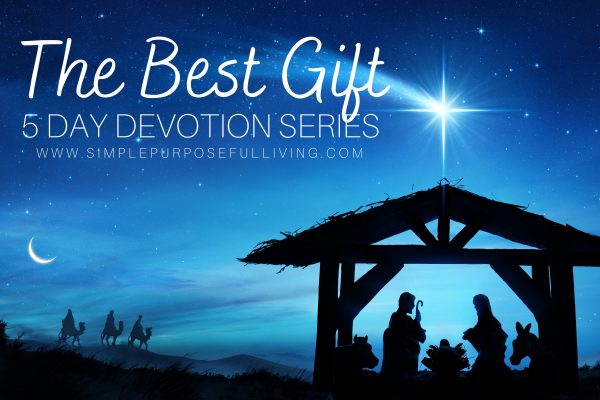 The Best Gift Christmas 5-day Devotion series