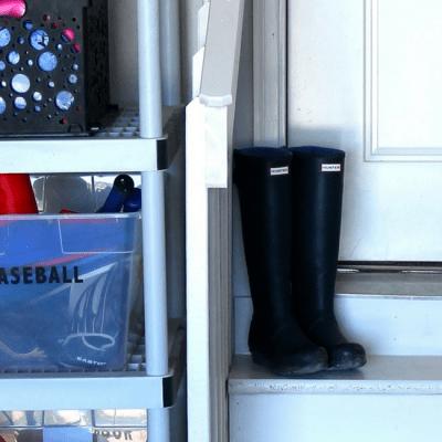 DIY Garage Toy Organization