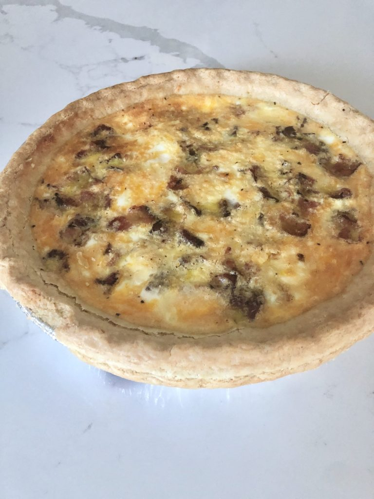basic breakfast quiche recipe