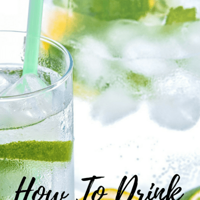 6 Simple Ways To Drink More Water