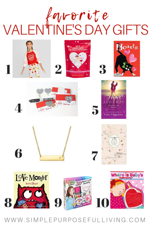 favorite Valentine's Day gift ideas