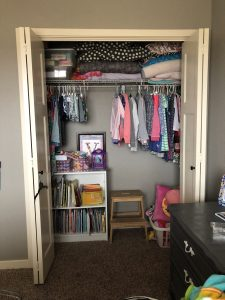 I Knew I Wanted To Divide The Closet In Half So That Each Sister Had Their  Own Area To Organize Clothing And Accessories, Room To Stow Books,  Keepsakes And ...