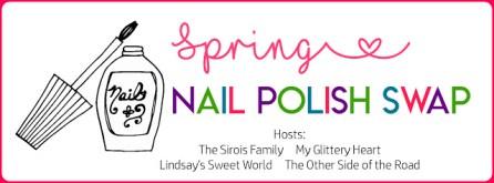 spring nail polish swap logo