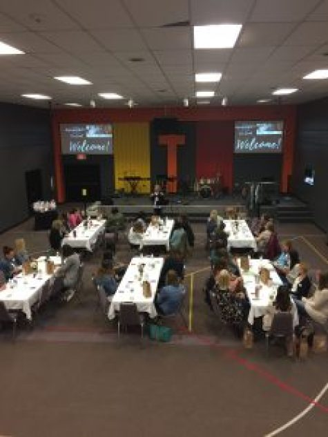 women's event at a church