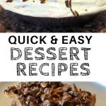 easy dessert recipes with few ingredients