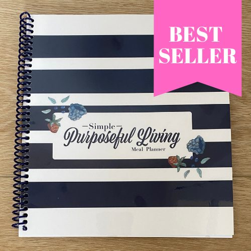 best seller 52 week meal planner