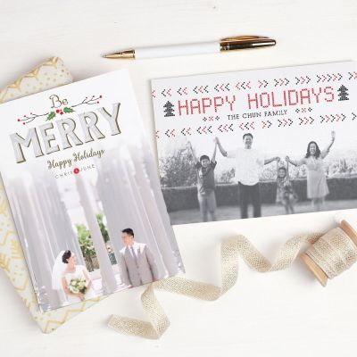Create Simple Holiday Photo Cards Now