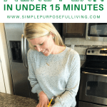 Create a weekly meal plan in under 15 minutes