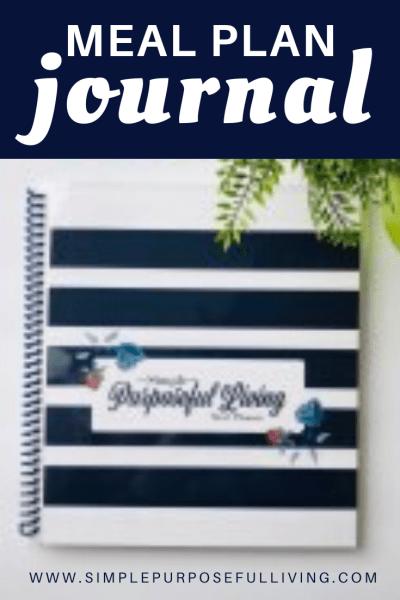 meal plan journal