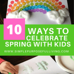 10 ways to celebrate spring with kids