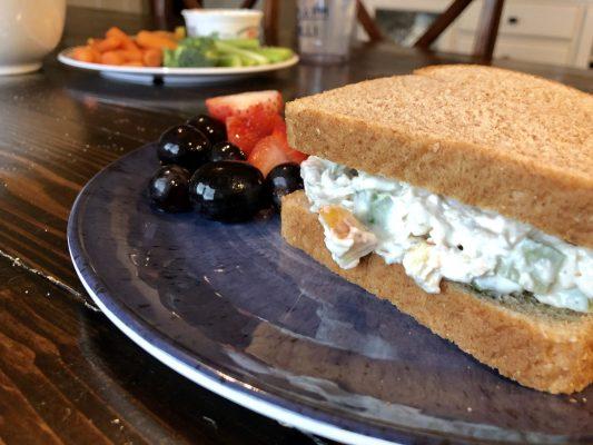 Simple Apple Chicken Salad Recipe Simple Purposeful Living