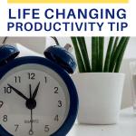secret life changing productivity tip pin