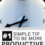 simple tip to be more productive