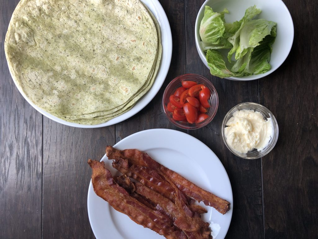 BLT wrap recipe 5 ingredients