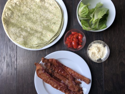 BLT wrap recipe 5 ingredients
