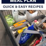 Aldi weekly meal plan quick and easy dinner recipes