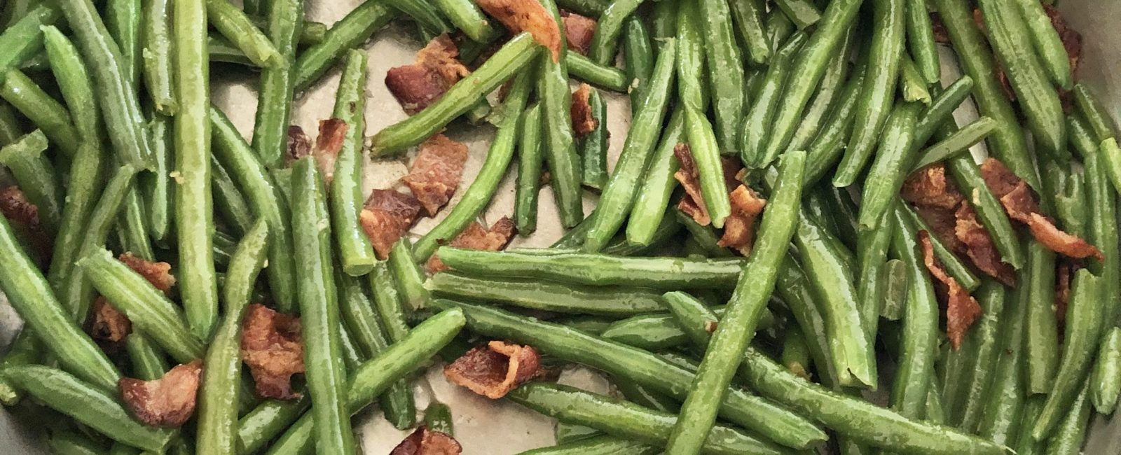 Grandma's Simple Bacon Green Beans