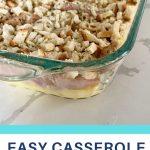 easy casserole chicken cordon bleu