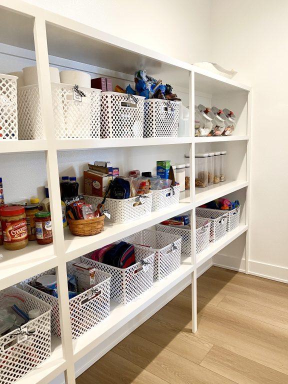 kitchen pantry organization and storage