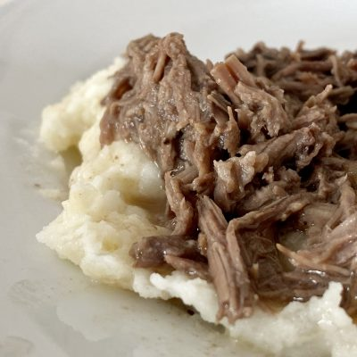 Simple 4-Ingredient Slow-Cooker Pot Roast Recipe