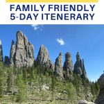 south dakota family friendly 5 day itenerary