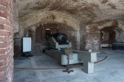 Fort Sumter cannon - Charlestown South Carolina