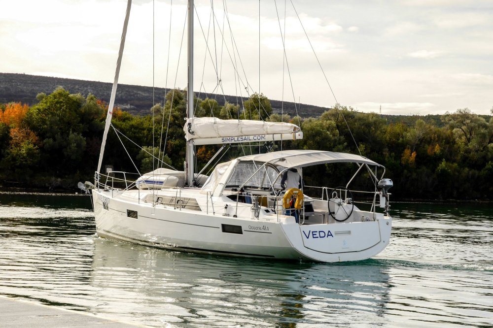 medium resolution of beneteau oceanis 41 1 veda 3 cabins 2 toilets